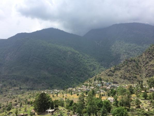 The view near Birthi falls