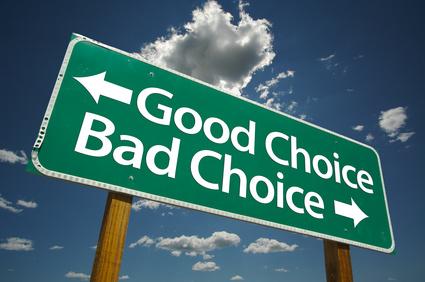 Good Choice, Bad Choice!