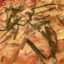 Japanese style Pizza
